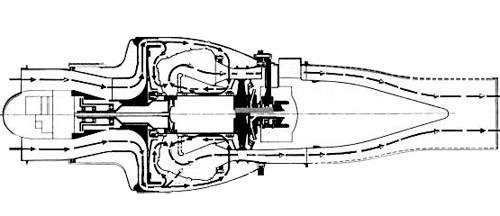 Turbomeca Marbore Drawing3
